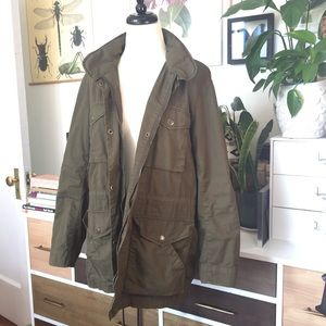 Vince Cotton Utility Jacket M